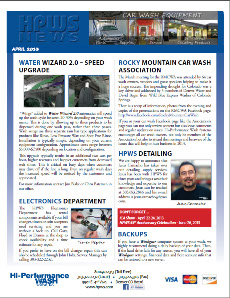 April 2013 Newsletter