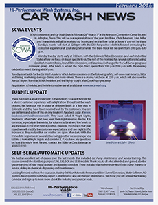 SCWA events, tunnel light show, self-serve/automatic update
