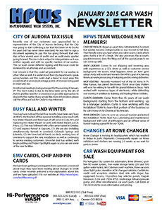 City of Aurora Sales Tax, EMV Cards, Changes at Rowe Changer