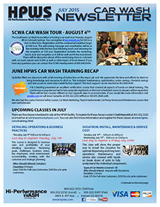 SCWA tour, training, upcoming classes