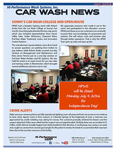 Crime alert, Sonnys Open House
