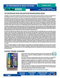 Unitec trade in offer, Increasing our collective knowledge base